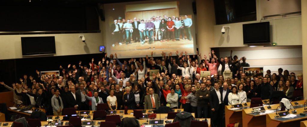 Les membres de l'association Facteurs Humains en Santé